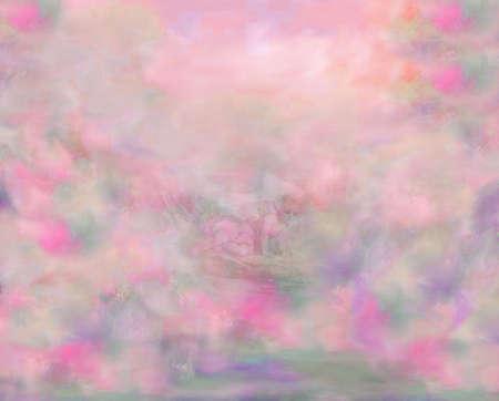 Pink clouds Banco de Imagens - 689544