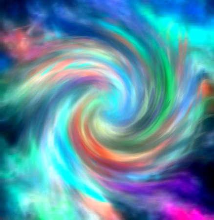 Swirls van Color
