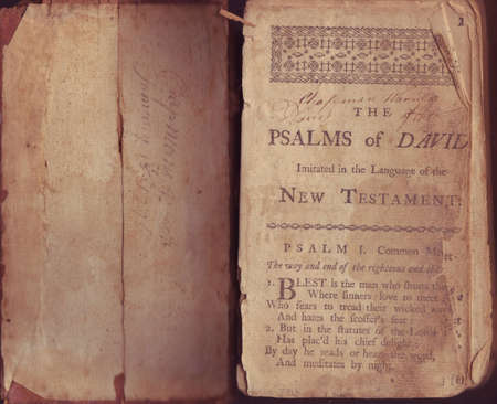 messed: Psalms of David circa 1711