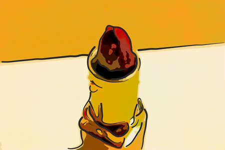 Lipstick 版權商用圖片
