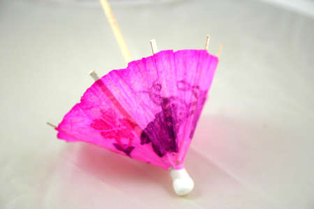 Drink umbrella Stock Photo