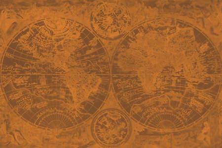 Pirate World Map Blank Stock fotó