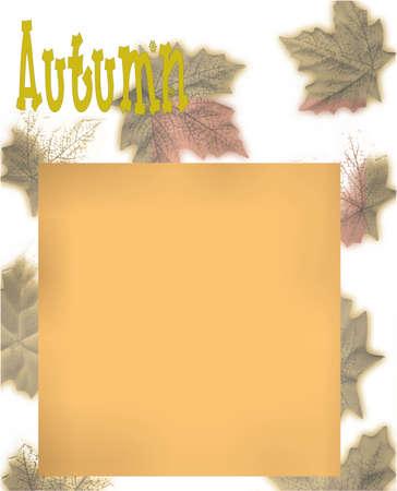 Fall blog design Stock Photo - 1877138