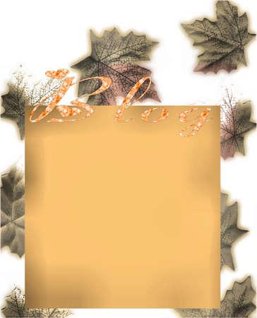 Autumn design photo