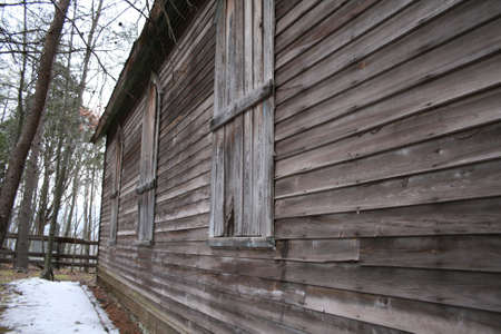 Old Wooden Haunted House