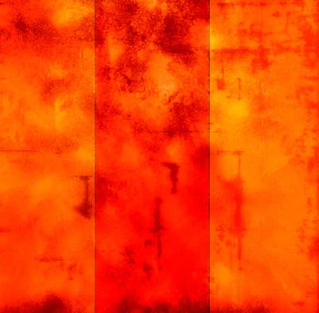 raggedy: orange background