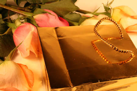 gift and roses