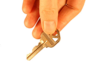 Business Key Stock Photo