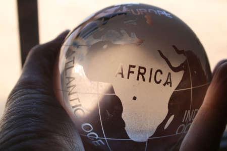 crystal gazing: Africa