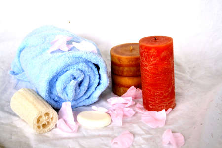 pamper: Pamper Yourself Stock Photo