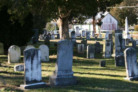 headstones: Headstones Stock Photo