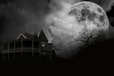 dreary:  Haunted House