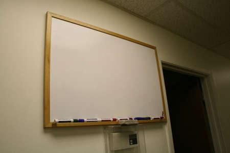 Empty Whiteboard Stok Fotoğraf