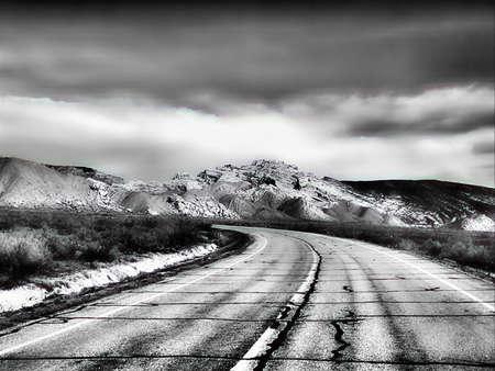 Schrok snelweg