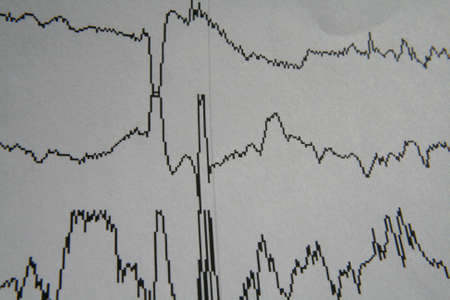 polygraph: Lies Stock Photo
