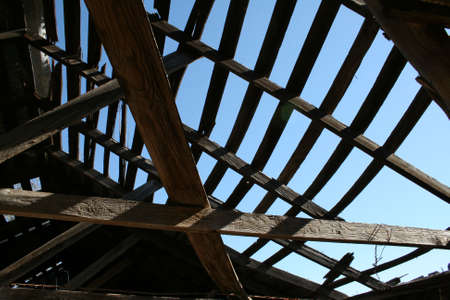 rafters: Rafters Stock Photo