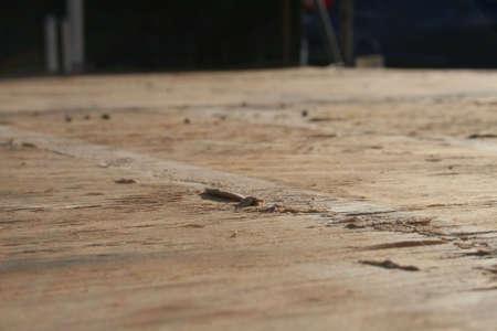 Cracked Board Reklamní fotografie - 4142590