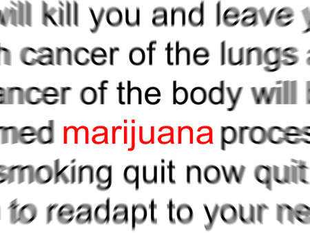 Marijuana Reklamní fotografie - 3990785