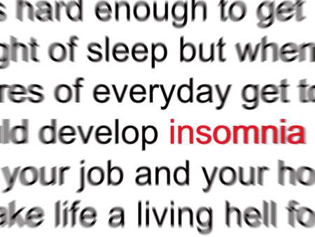 Insomnia Stock fotó