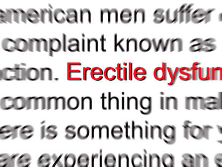 dysfunction: Erectile Dysfunction