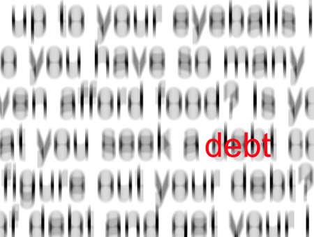 빚 스톡 콘텐츠