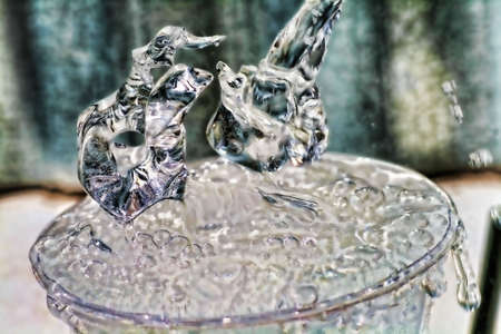 Pouring Water Imagens