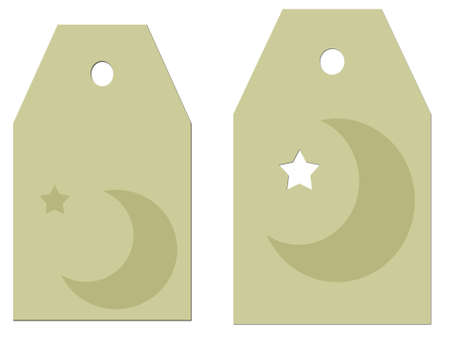 Celestial Gift tags