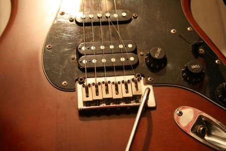 damaged: Broken Guitar string