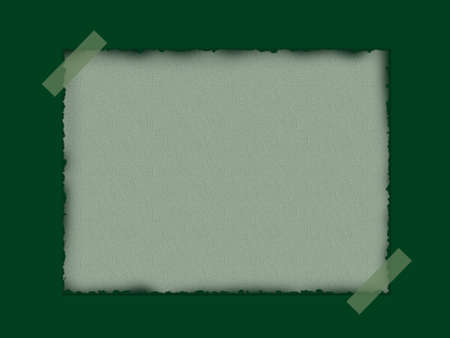 browned: Taped paper background