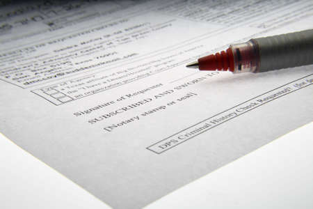 Documentos de derecho mercantil Foto de archivo - 4531179