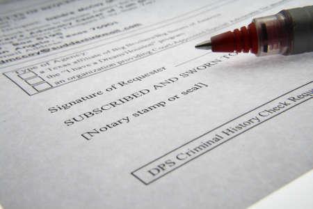 Law papers Banco de Imagens