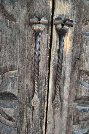 Antique Door Stock fotó