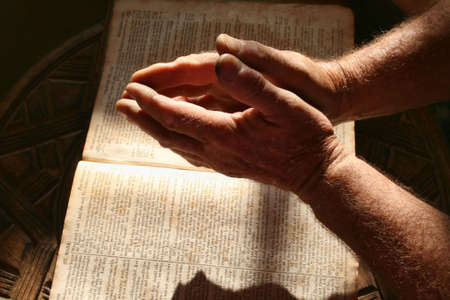 prayer hands: Speranza Archivio Fotografico
