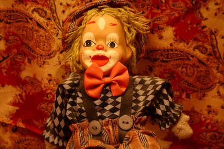 Clown Doll Stockfoto