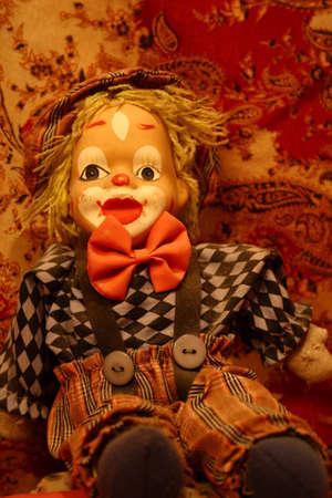 Spooky Little Clown Doll