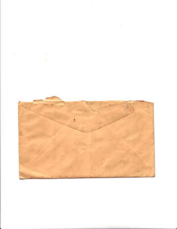 old envelope: Old Envelope Blank Stock Photo
