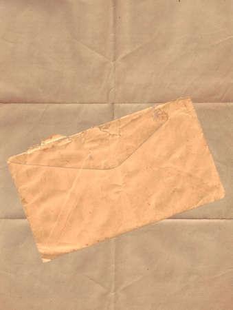Paper and Envelope Banco de Imagens