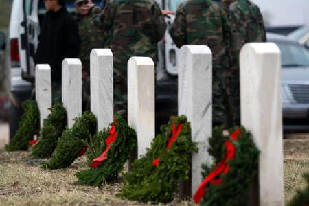 across america: Wreaths Across America Event Texas