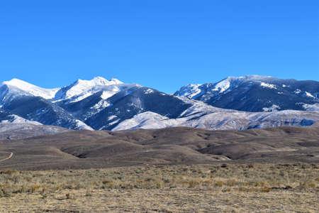 Sawtooth Mountains In Southern Montana Stock Photo