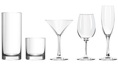 wineglass isolated on white background
