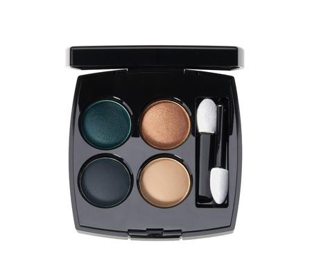 Make up glamour palette for smoky eyes on white background Reklamní fotografie