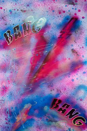 achtergrond stedelijke muurschildering - graffiti