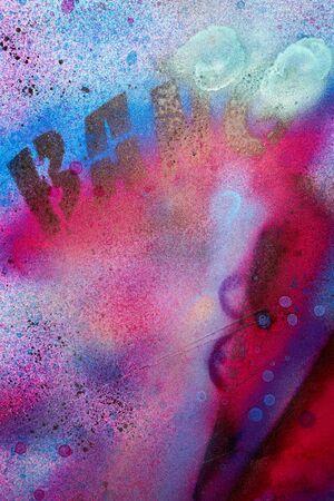 Graffiti van een stedelijk muurschildering - achtergrond