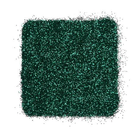 Bright and original green glitter background, in the form of a square stencil Stock Photo