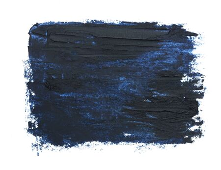 Dark blue pencil drawings on white paper texture directly above shot Imagens