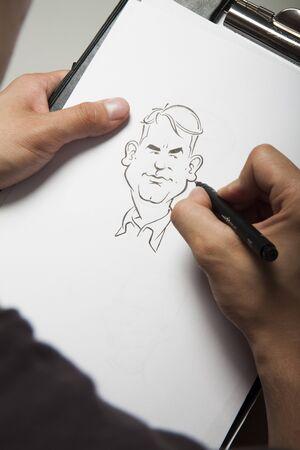 fineliner: Sketching Stock Photo