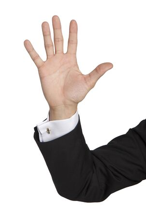 cuff buckle: five fingers