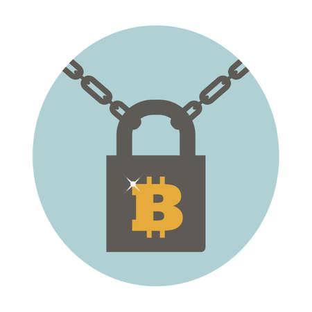 Lock vector icon, 向量圖像