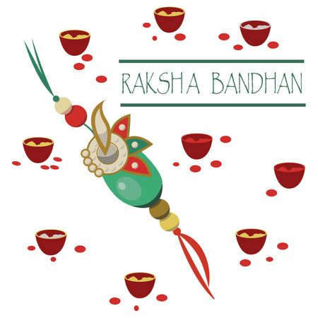 Raksha Bandhan.Vector illustration.