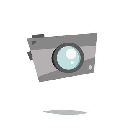 Cartoon camera.Vector illustration. Imagens - 104979758
